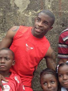 "Rio Mavuba a créé l'association ""Les orphelins de Makala"""