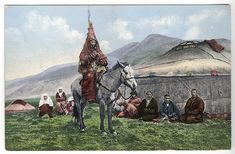 SB - Kazakh woman on horse - Wedding dress - Wikipedia, the free encyclopedia