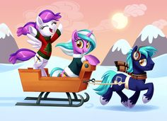 BronyCon Holiday Card 2014 by Tim-Kangaroo.deviantart.com on @DeviantArt