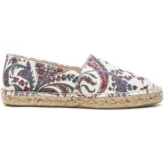 IIsabel Marant Etoile Cana Canvas Espadrilles (3,050 DOP) ❤ liked on Polyvore featuring shoes, sandals, flats, flat shoes, canvas sandals, platform flats, canvas espadrilles and platform sandals
