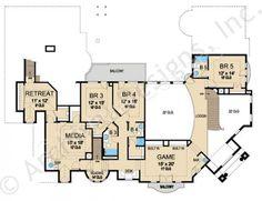 Villa Visola House Plan Villa Visola House Plan Second Floor Plan