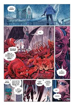 A page from Veil#5 ( Dark Horse Comics). Story: Greg Rucka. Colors: Aljosa Tomic (+me)