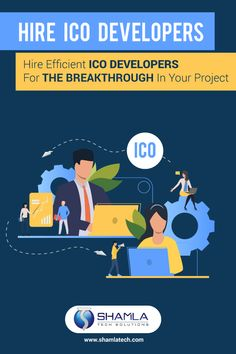 Shamla Tech - Hire efficient ICO Developers for the breakthrough in your project Product Launch, Tech, Projects, Technology, Tile Projects