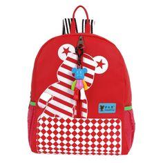 5ed480957950 2017 Lucky Bear Design Children School Bags For Girls Backpack Kids  Kindergarten Bag Cartoon Kids Baby Bags Mochila Escolar