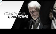 San Antonio Spurs Coach Pop wins 1000 games as MBA coach. Love my Spurs.