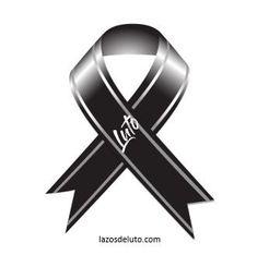 símbolo de luto para perfil de facebook