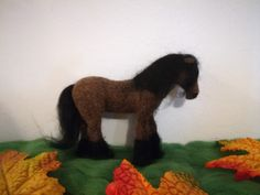 My first felted horse!