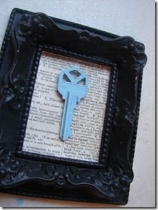 Key to first house together as a married couple and a bible page about starting a life together!