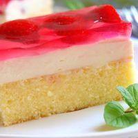 Autor: Naďa I. Cake Recipes, Dessert Recipes, European Dishes, Czech Recipes, Sweet Cakes, Amazing Cakes, Food Art, Vanilla Cake, Yummy Treats