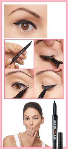 This Liner Tool Will Help You Get The Perfect Flick Eyeliner - Fashion Trends