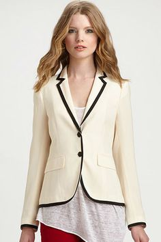 Bring Back These 5 Items You Forgot You Had - Contrast-Trim Blazer — Balenciaga's fall '07 show made this prep-school staple a layering piece for all. If you still have a trimmed blazer, wear it with cropped trousers (instead of those cargo pants). Gap Ponte Academy Blazer, $88, available at Gap