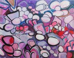 """Items similar to Original Fine Art Acrylic on Canvas Abstract Painting """"City Blossom"""" by Allyson Kramer on Etsy Abstract Canvas, Fine Art, The Originals, City, Unique Jewelry, Handmade Gifts, Painting, Kid Craft Gifts, Craft Gifts"""