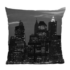 DENY Designs // Leonidas Oxby New York Financial District Throw Pillow