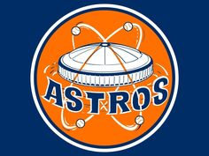 Houston Astros  Throwback Logo with Astrodome Flag  3 x5  7274406a9