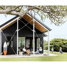 Shed Plans - A yearning for a beach retreat on the NSW South Coast turned into a cool shed home – and the owners couldn't be happier. Check it out! - Now You Can Build ANY Shed In A Weekend Even If You've Zero Woodworking Experience! Shed Design, House Design, Cool Sheds, Shed Homes, Beach Shack, Building A Shed, Shed Plans, Cabana, My House
