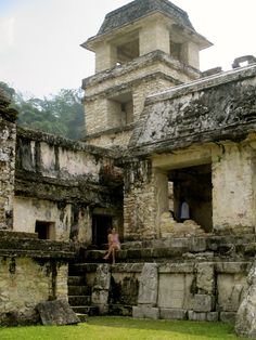 The Maya ruins of Palenque sit in the mist-shrouded jungles of eastern Mexico