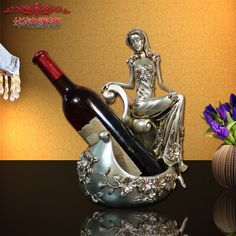 Find More Figurines & Miniatures Information about 2016 Sale Limited Home Decoration Accessories Sexy Beauty Wine Rack Furnishing Decorative Resin Crafts Gifts ,High Quality gift ideas craft,China gifts wife Suppliers, Cheap gift printer from Wooden box / crafts Store on Aliexpress.com