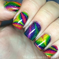 The Lacquerologist: #31DC2015 Day 09: Rainbow Nails