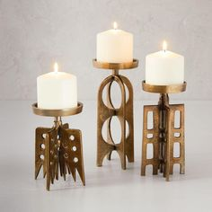 Modern Jewellery Candleholders |west elm UK