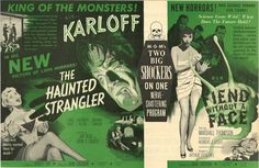The Haunted Strangler / Fiend Without a Face