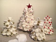 Tre tutorial per Natale con i dischetti di cotone ( make up remover pads) - YouTube