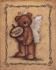 """Bless Your Heart, Art Print by Mary Ann June, Extra Small (paper size 8"""" x 10"""")"""