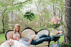 Whimsical Wonderland Shoot / a little Alice in Wonderland wedding inspiration / mad tea party / garden party / adorable / feminine