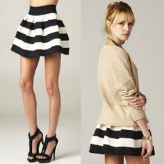 RESTOCKED!!! WWW.SHOPPUBLIK.COM #publik #shoppublik #striped #black #white #bandage #skater #skirt #chic #cute #hot #trendy #sexy #style #fashion #womens #clothes #accessories #jewelry #fashionista #fashionfeen #fashionforward #fallfashion #holidays #fashiontrends #ootd #newarrivals #whatsnew #outfitinspiration #streetstyle #celebstyle