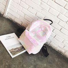 Backpack Women Backpacks Teenage Girls Bling Fashion