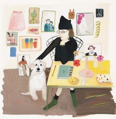 Maira_and_Pete illust smaller  (see the pic as well here) Maira Kalman