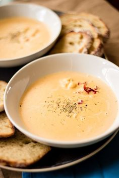 This Easy Lobster Bisque recipe is amazingly delicious and ready in under an hour!