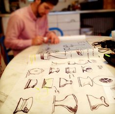 Designer Interview: Rich Williams of ModProducts :: Hatch Modern Home Furniture, Sketching, Cool Designs, Designers, Inspiration, Dibujo, Biblical Inspiration, Sketch, Sketches