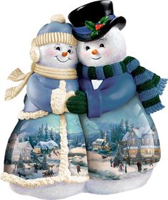 Snowmen figures