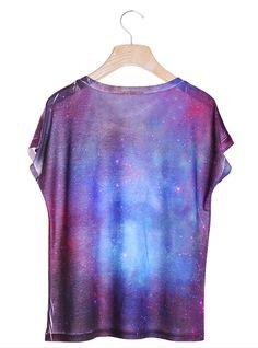 #Udobuy Galaxy Beard T-Shirt$32