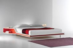 Two Sleek Modern Beds from Frighetto