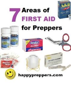 Prepper first aid, medical and dental kits