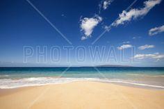 Blue Noon at the Beach - Fotobehang