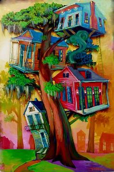 New Orleans Artist Terrance Osborne . 'upper class I' . galleryosborne.com