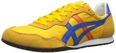 Onitsuka Tiger Serrano Classic Running Shoe, Gold Fusion/Strong Blue, 11.5 M US Onitsuka Tiger