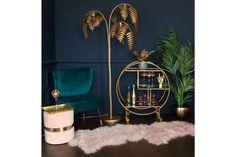 Unique floor lamps, Floor lamp, Gold living room, Office floor lamps, Industrial… - All For Decoration Interiores Art Deco, Art Deco Living Room, Art Deco Room, Living Room Decor Gold, Art Deco Bar, Art Deco Decor, Gold Home Decor, Unique Floor Lamps, Modern Lamps