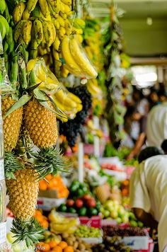 Fresh fruit market in Sri Lanka #asiantrail