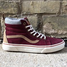 51220f173a Wool-lined with an outward waffle sole to brave the elements. The Vans  Mountain