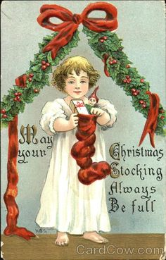 May Your Christmas Stocking Always Be Full H.B. Griggs (HBG)