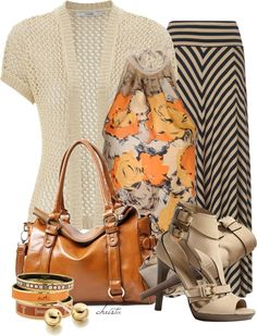 """""""Maxi Skirt"""" by christa72 ❤ liked on Polyvore"""