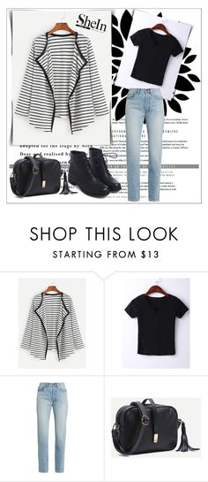 """""""SheIn 3/ XIII"""" by emina-095 ❤ liked on Polyvore featuring WithChic, Yves Saint Laurent and shein"""