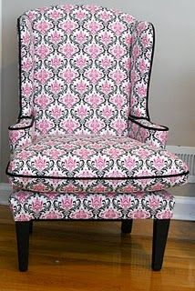 Sweet Pink Chair