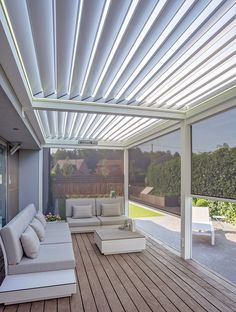 30 New Structure Pergola Design Ideas for Backyard Patio - Create Your Own Backyard Retreat Louvered Pergola, Pergola Patio, Backyard Patio, Pergola Shade, Pergola Designs, Patio Design, House Design, Outside Patio, Back Patio