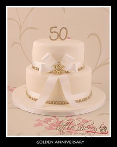Golden Anniversary by Little Cherry Cake Company, via Flickr