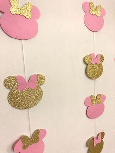 1st Birthday Girl Decorations, 2nd Birthday Party For Girl, Minnie Mouse Party Decorations, Minnie Mouse Birthday Decorations, Minnie Mouse First Birthday, Minnie Mouse Baby Shower, Minie Mouse Party, Girl Birthday Themes, Birthday Ideas