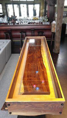 Shuffleboard Tables / Custom Made to Order #mancave